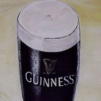 Guinness Oil on Canvas 10 X 12