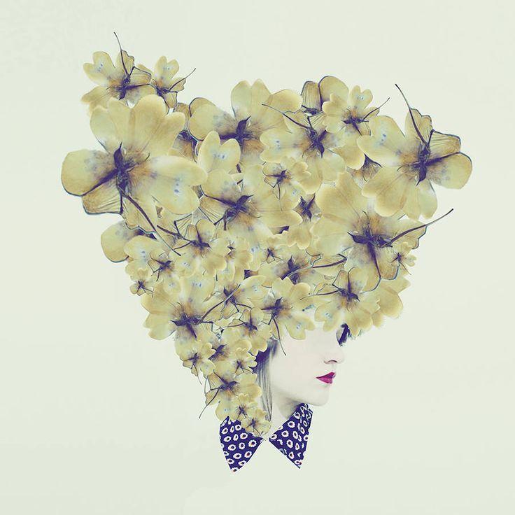 Sanatlı Bi Blog Çiçeği Sev, Kafayı Koru, Şiiri Unutma - Şiirsel Çiçekli Portreler 2