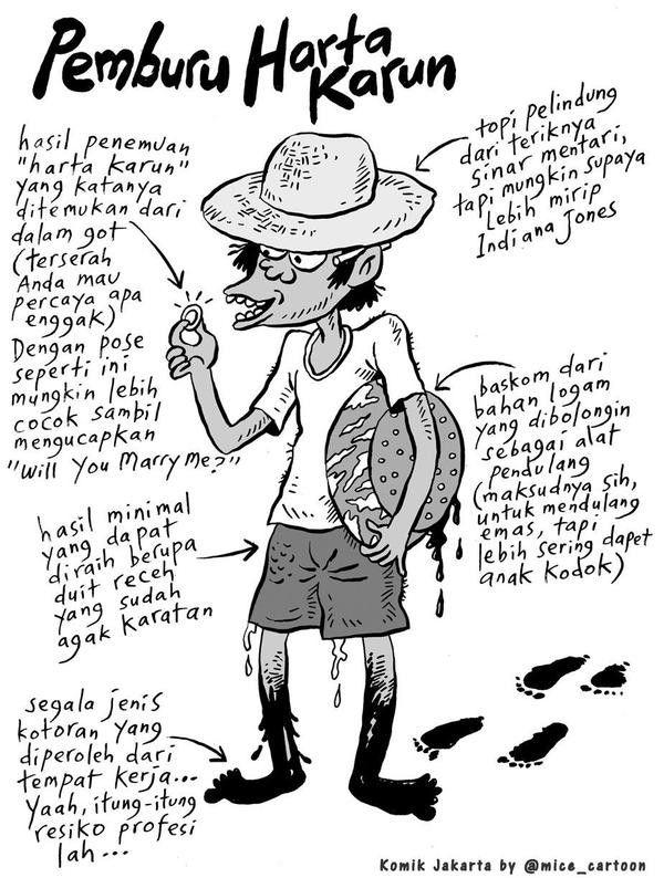 Mice Cartoon, 100 Tokoh Mewarnai Jakarta (2008): Pemburu Harta Karun