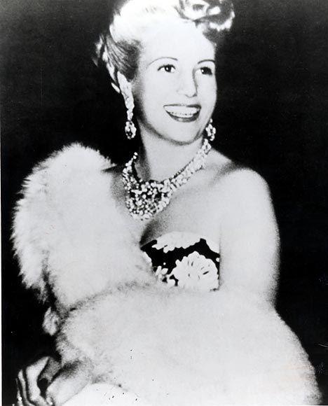 María Eva Duarte de Perón (Evita)