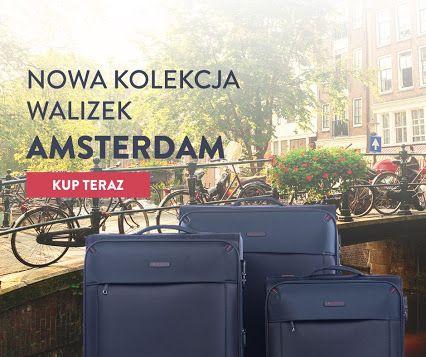 Nowość w PUCCINI. Prezentujemy kolekcję walizek Amsterdam! :)  http://bit.ly/2bfN706
