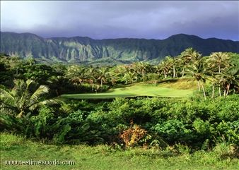 Luana Hills in Hawaii. Most beautiful golf course I have ever seen but the most difficult no doubt. However, I don't have much time to enjoy the scenery as I was busy looking for my golf balls among the bushes most of the time.