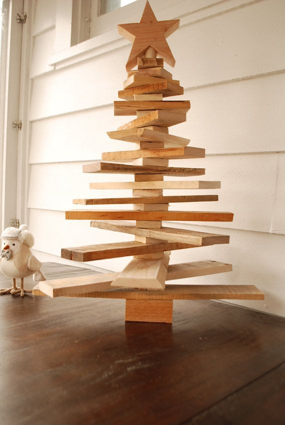 Pallet Christmas Tree Spaced Out Holiday por TreasureValleyLumber