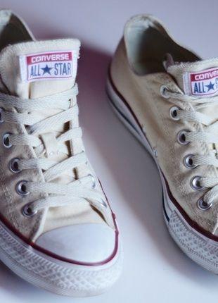 Kup mój przedmiot na #vintedpl http://www.vinted.pl/damskie-obuwie/obuwie-sportowe/11631970-bezowe-converse-all-star