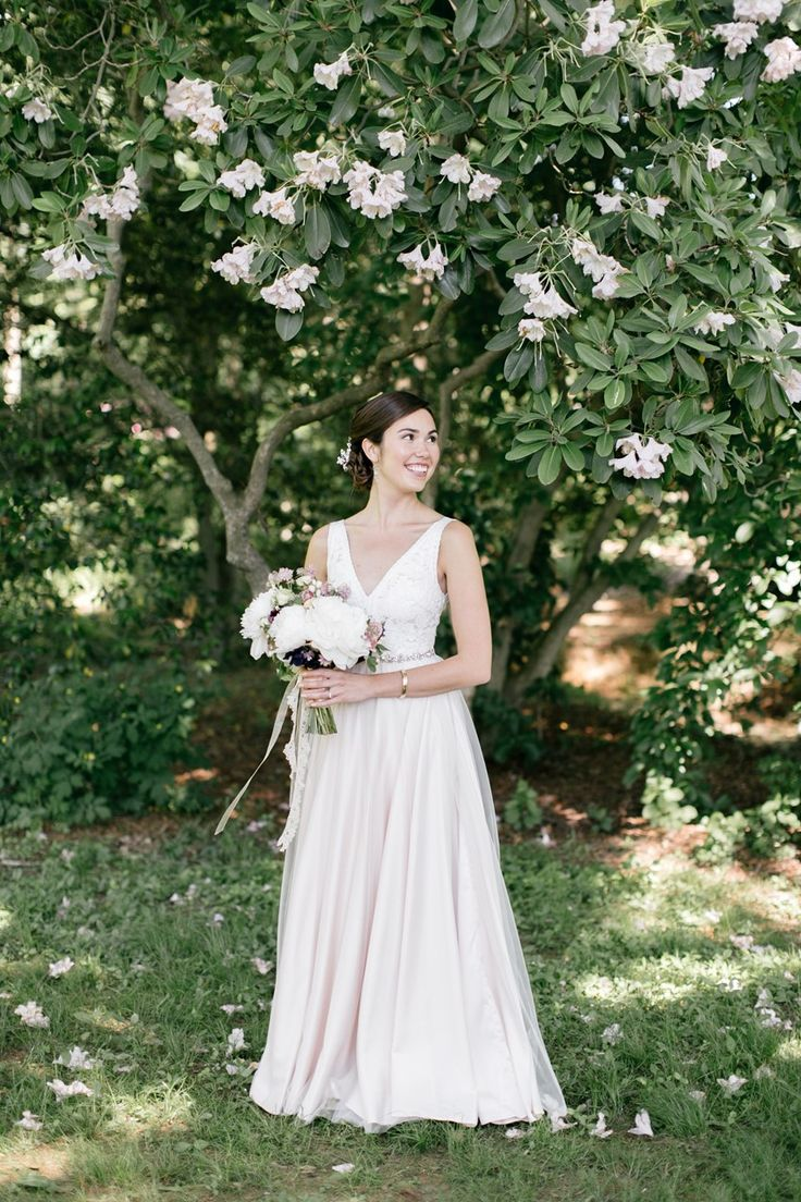 Vintage pearl bridal blog real brides news amp updates wedding - A Bride In Blush