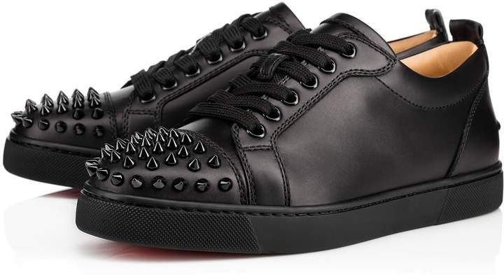 2dc6fc2bb3d Christian Louboutin Louis Junior Spikes Woman Flat | Products ...