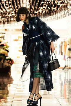 伊勢丹新宿店と京都ひなやが、ミナ ペルホネン、シアタープロダクツ、ファセッタズム、アンリアレイジとコラボ浴衣を発売の写真4