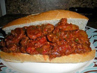 Chef JD's Street Vender Food: Sloppy Giuseppe Sandwich