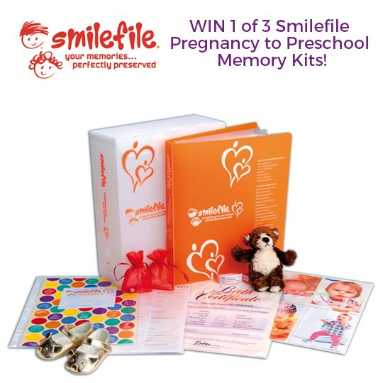 Christmas came early in Nurture! :)   Smilefile is giving away 3 wonderful Pregnancy to Preschool Memory Kits!  Isn't that exciting?  Here's how to join the competition: 1. Like Smilefile's FB page.  2. Head over here to enter your details -> http://tinyurl.com/smilefile-2016-giveaway  Good luck everyone xx