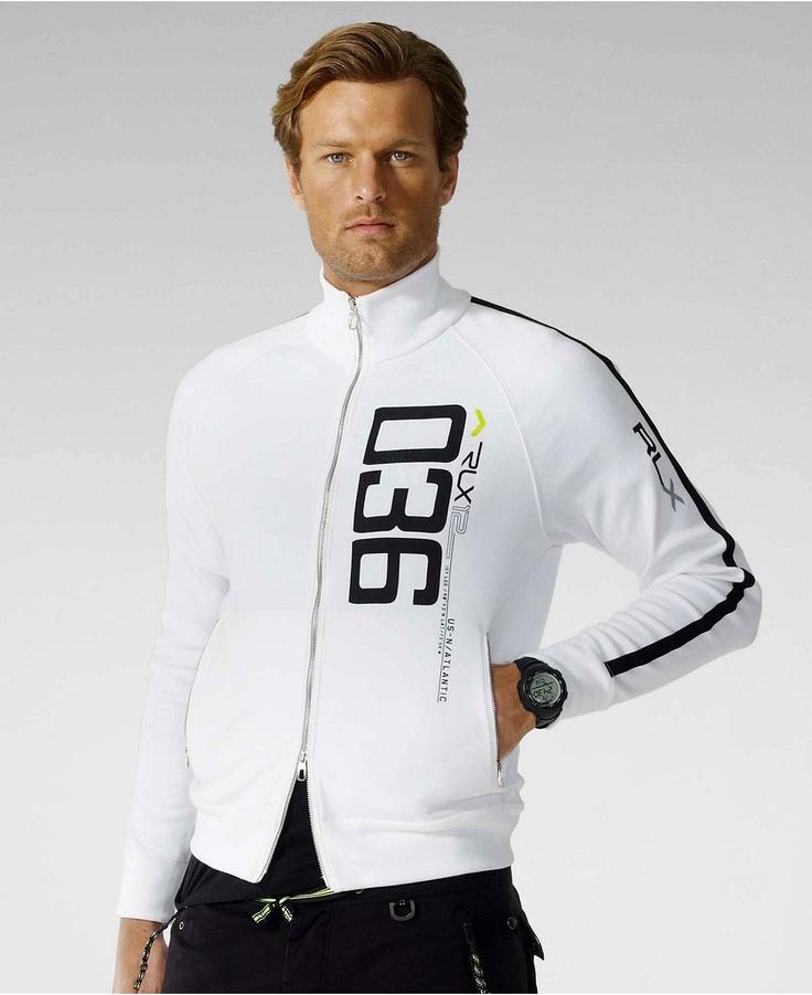 RLX Ralph Lauren Track Jacket: $148 @ Macys.com