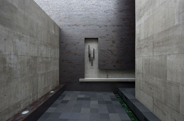 minimal courtyard / WORKS ::: 静謐な家 ::: House of Silence ::: FORM / Kouichi Kimura Architects ::: フォルム・木村浩一建築研究所