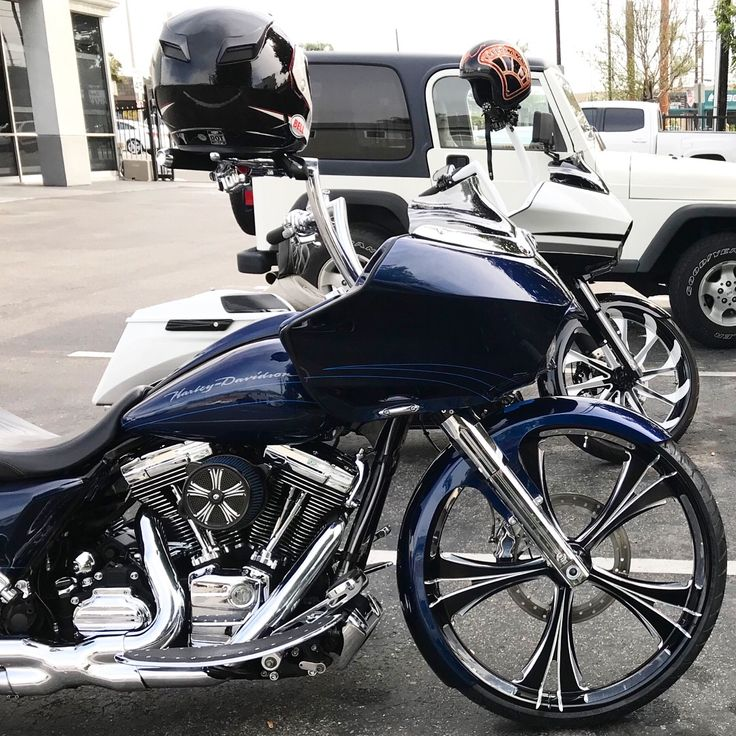 26 Inch Wheel Road Glide Tricky Air Ride Suspension Triple