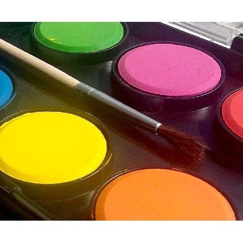 Nebuló vízfesték készlet 12 darabos 28 mm korong, ecsettel - Akvarell festék Ft Ár 549