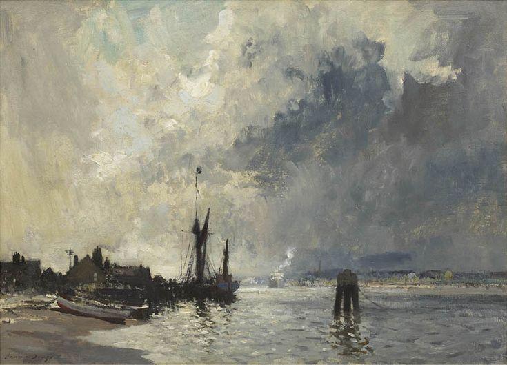 Edward Seago   The Spritsail Barge