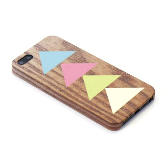 Triangle  wood pattern geometric  iphone case iphone by happybuddy, $12.99