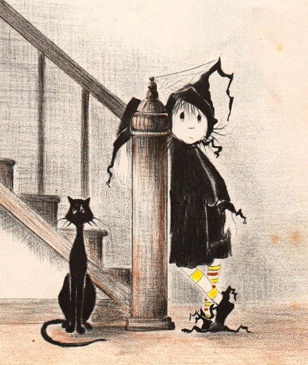 Dorrie, the Little Witch - the heroine of a series of charming books...