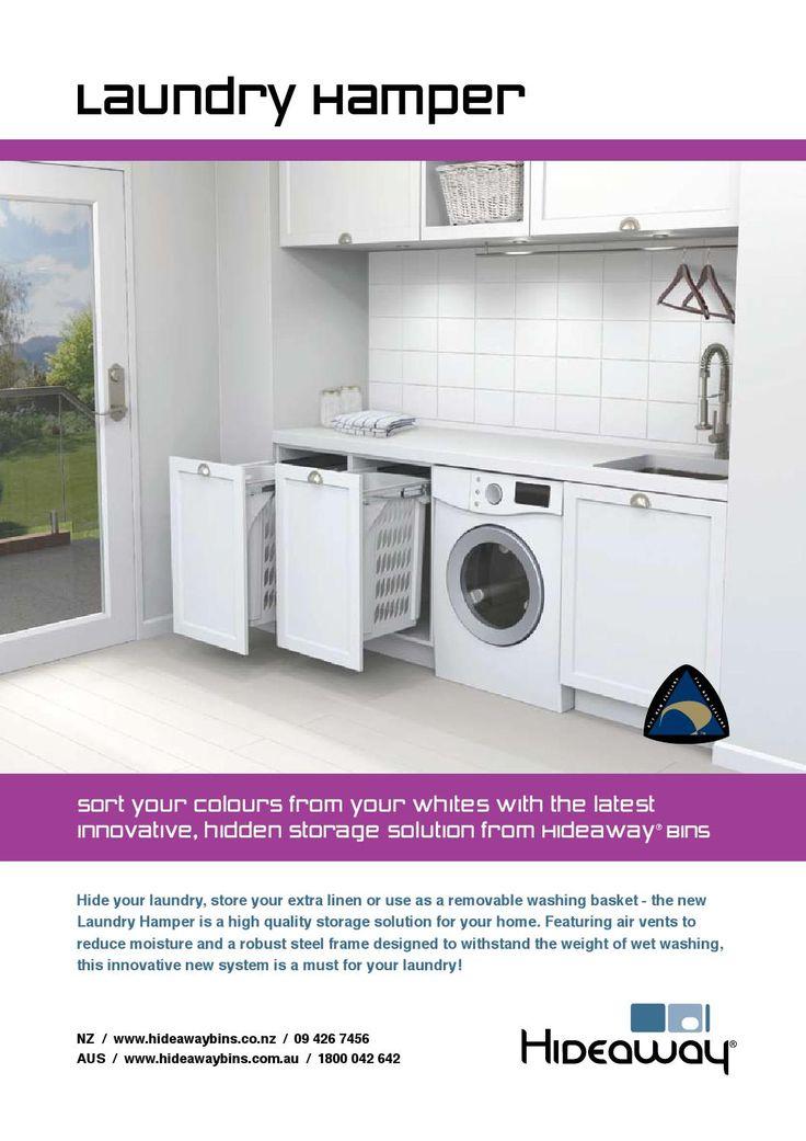 Hideaway Laundry Hamper Flyer