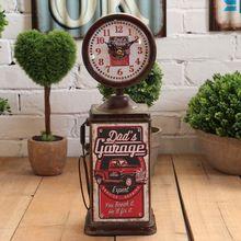 O europeu de fotografia adereços decoração relógio de pêndulo dbce ponteiro digital de decoração de ferro(China (Mainland))