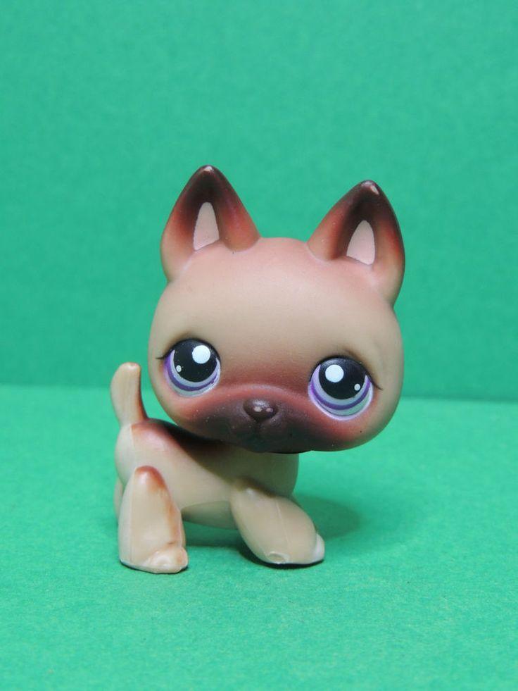 #364 chien Berger Allemand dog German Shepherd LPS Littlest Pet Shop figure 2004