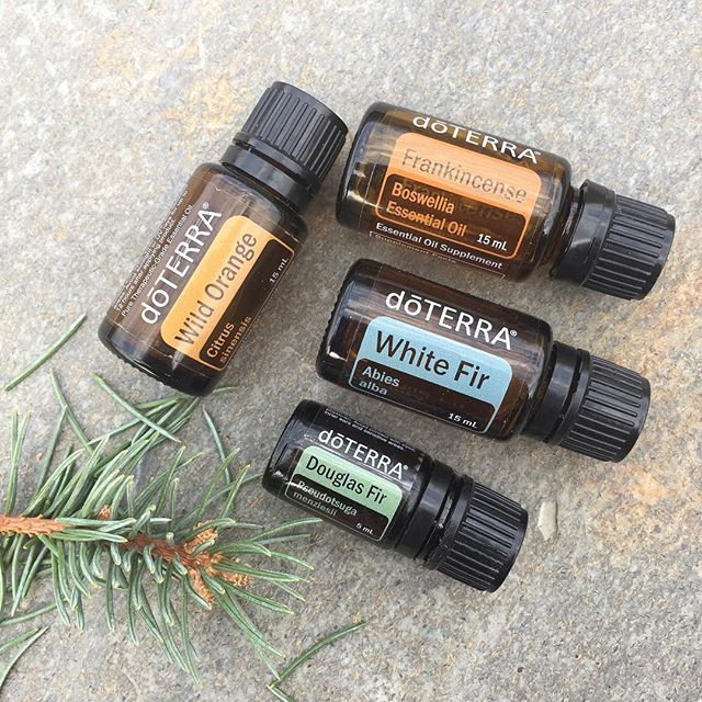 Christmas Tree Diffuser Blend ❤️ 2 drops each Douglas Fir, White Fir, Wild Orange, & Frankincense. Calming, grounding, for mind, body & spirit during the busy and sometimes even hectic holiday season.