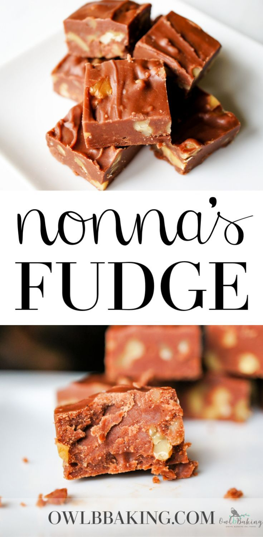 Easy Fudge Recipe No Condensed Milk Or Marshmallow Creme Recipe Fudge Recipes Easy Fudge Recipes Chocolate Fudge Easy