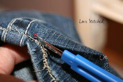 HOW TO HEM JEANS {{TUTORIAL}}: Hem Kids Pants, Hemming Pants, Hem Jeans, Sewing Tips, Hemming Kids Pants, Hem Kids Jeans, Jeans Pants, Pants Shorts