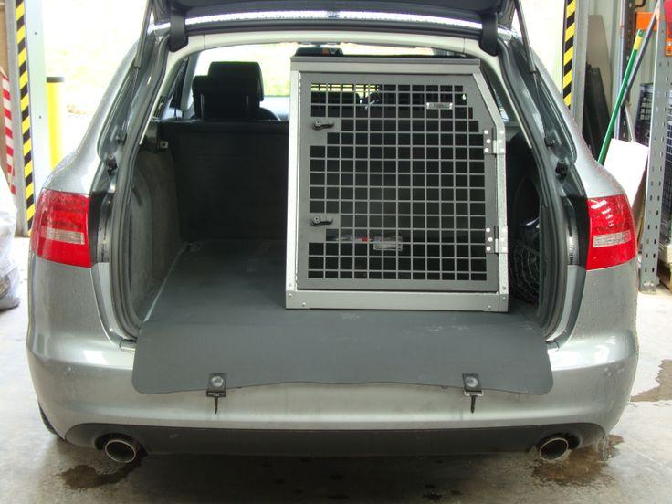 Transk9 B23 Audi A6 Avant Dog Crate Dog Transit Box Dog Cage Www Transk9 Com Audi Pinterest