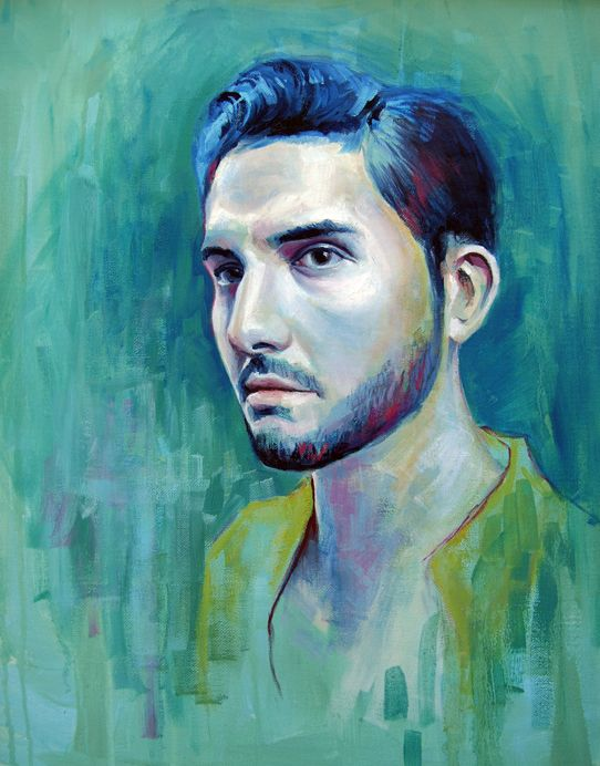 Interview: Gorgeous Pastel Portraits by Emma Uber - My Modern Metropolis
