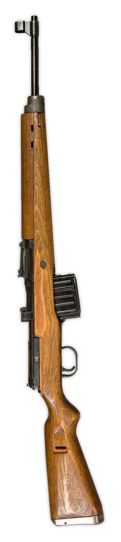 German Walther G43, circ. 1943-44. Germany's WWII response to America's semi-auto 8-rnd capacity M1 Garand.