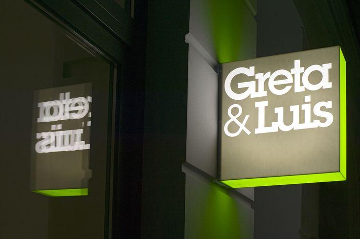 Greta & Luis | Our multi brand store at Kastanienallee 43 in Berlin Mitte #gretaundluis #retail #corporate #design #lit #blade