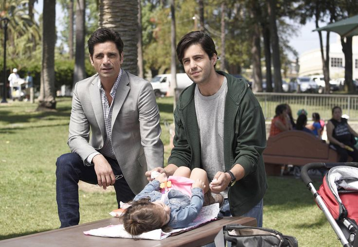 Fall TV Preview: 2015-2016 New Shows | TVGuide.com Grandfathered (Fox) John Stamos stars as a longtime bachelor who has his life turned upside down when he discovers he's a father and a grandfather. Josh Peck, Paget Brewster, Christina Millian, Kelly Jenrette, and Ravi Patel also star.