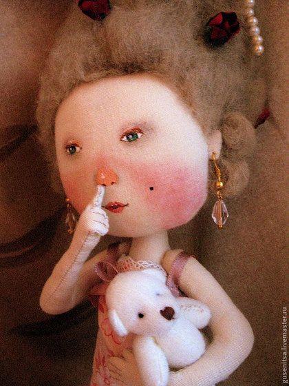 """Коллекционные куклы ручной работы. """"День рождения"""".. Анастасия Побережец. Ярмарка Мастеров. Оригинальный подарок, бусины стеклянные"""