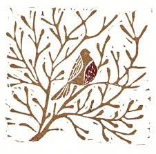lino print christmas cards - Google Search                                                                                                                                                                                 More
