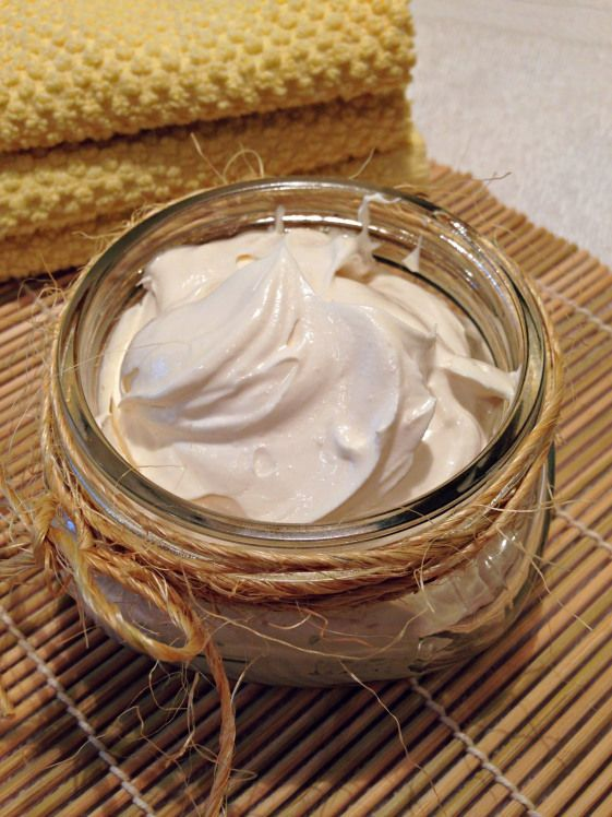 Beurre corporel naturel. DIY