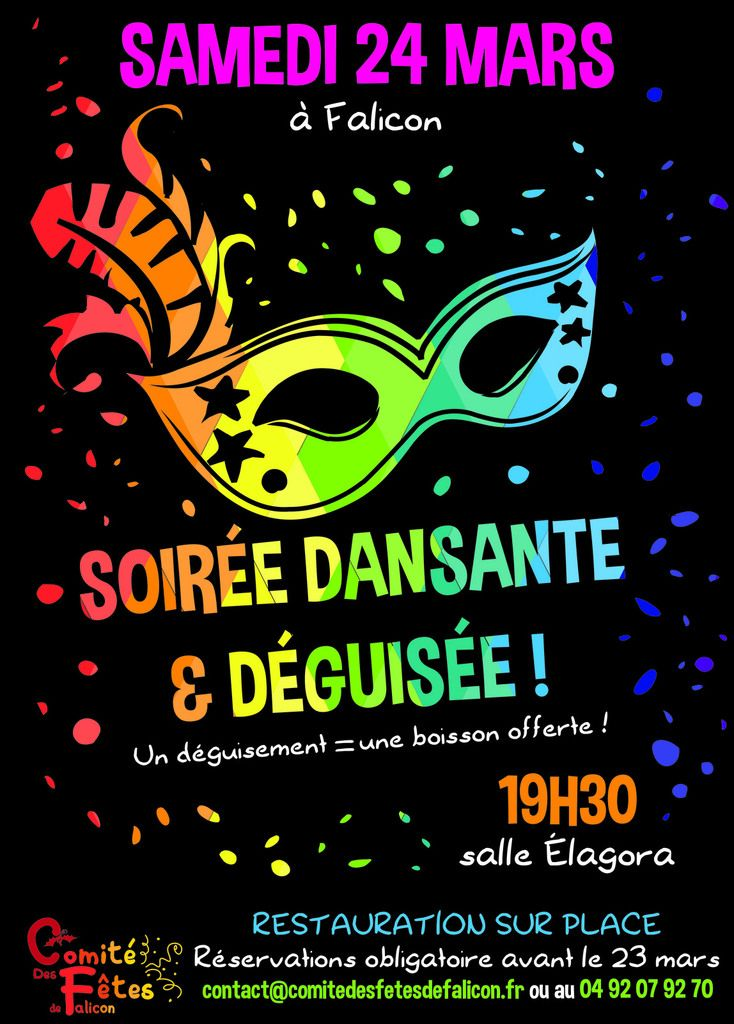 Soiree Deguisee Popin S Soiree Deguisee Affiche Soiree Affiche