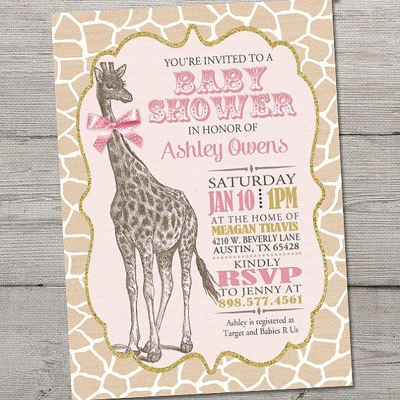 Best 25+ Baby shower giraffe ideas on Pinterest | Giraffe ...