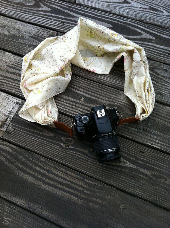 Camera Strap/Camera Strap Scarf/Fashion Camera Strap/DSLR Camera Strap/Clip on Camera Strap/Canon Strap/Nikon Strap on Etsy, €21,21