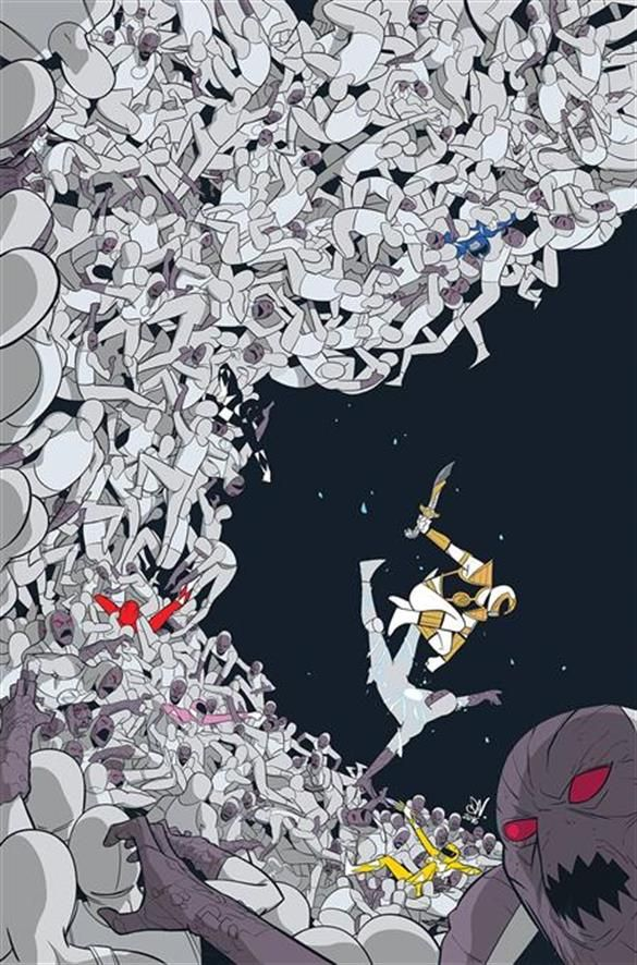 MIGHTY MORPHIN POWER RANGERS #9 VILLIAN VARIANT - BOOM! Studios - Come Innovate With Us.