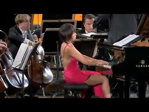 YouTube/Yuja Wang Shostakovich  Concerto 1 piano & trompette