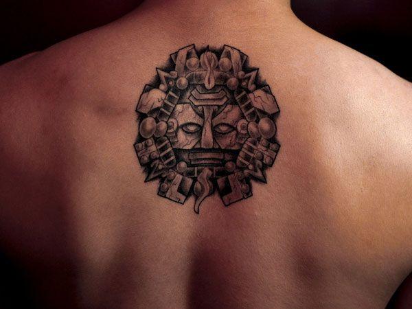 Best 20 aztec tribal tattoos ideas on pinterest for Aztec mural tattoos