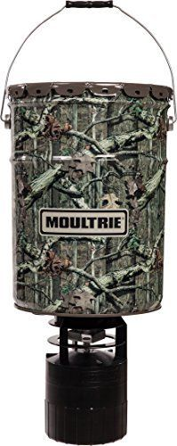 Moultrie 6.5-Gallon Pro Hunter Hanging Deer Feeder by Moultrie. Moultrie 6.5-Gallon Pro Hunter Hanging Deer Feeder. 6.5 gallon.