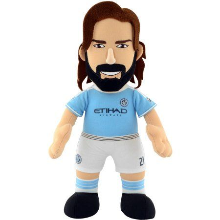 MLS Player 10 inch Plush Doll New York City FC Andrea Pirlo, Blue, Assorted