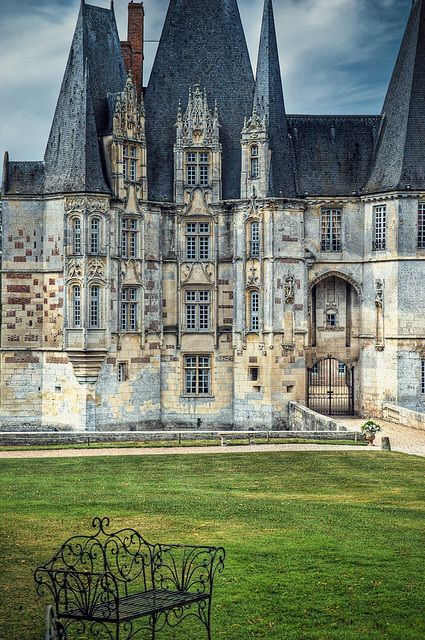 Medieval, Château-d'Oex, Normandy,France. photo via impac