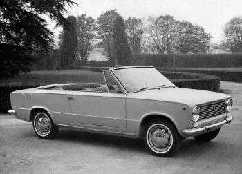 Fiat 124 Cabriolet C4 '1966