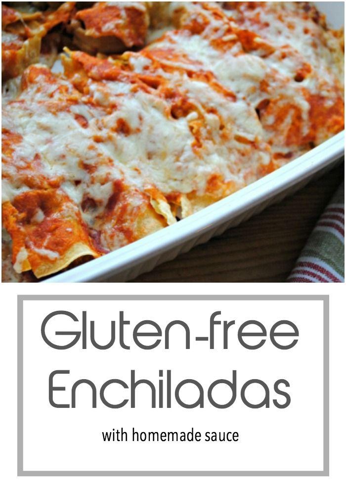 Gluten Free Chicken Enchiladas Recipe Living On A Dime Money