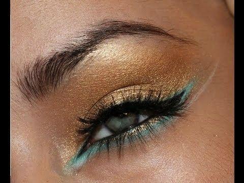 : Gorgeous Eye, The White Stripes, Turquoise Eye Makeup, Turquoi Eye Makeup, Arabic Makeup, Arabic Eye, Makeup Looks, Summer Eye Makeup, Black Eye Makeup