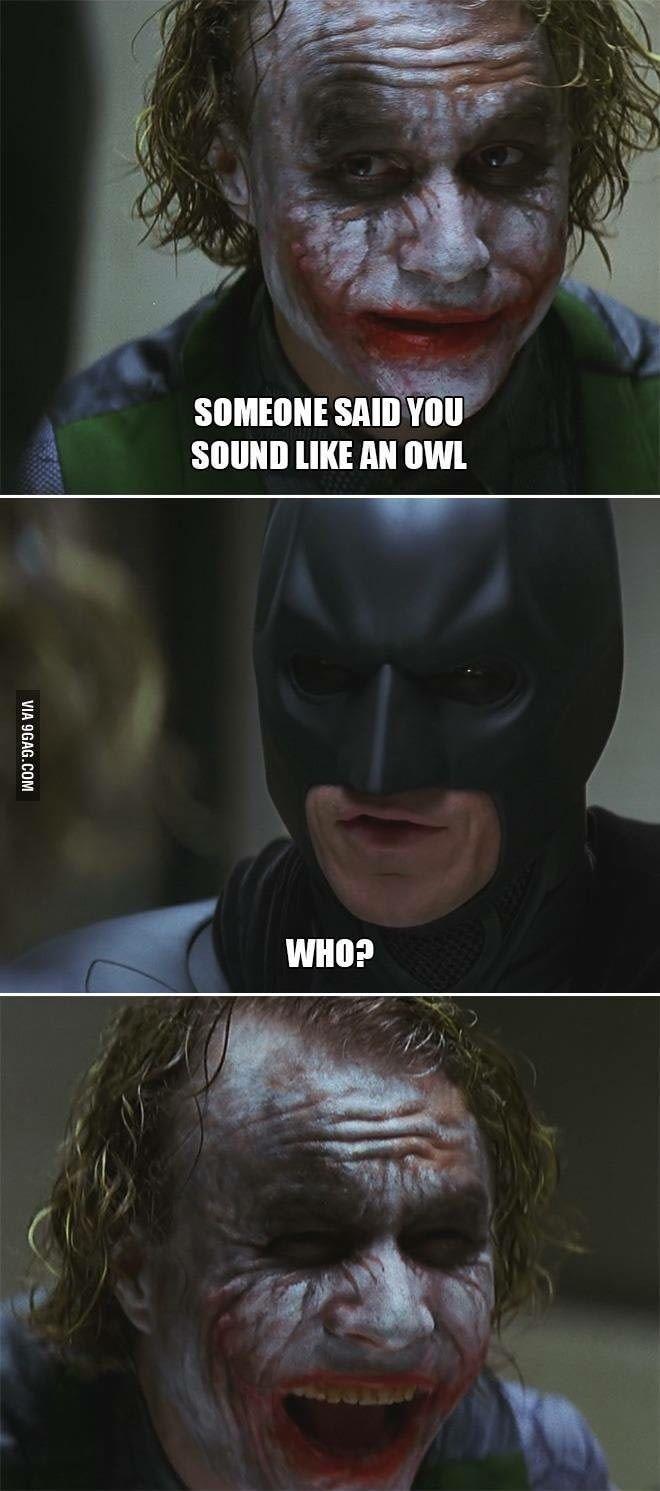 Joker Trolling Batman