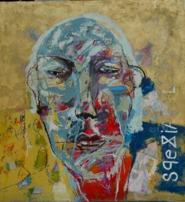 "Saatchi Art Artist RENATA KACOVA; Painting, ""FILHARMONY"" #art"