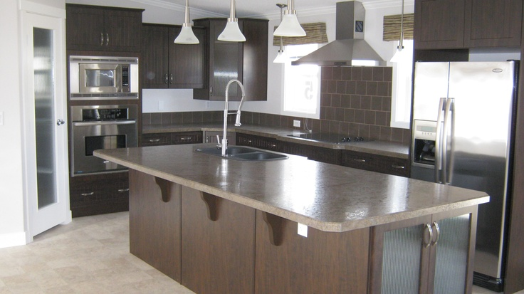 Incredible kitchen in a manufactured home!