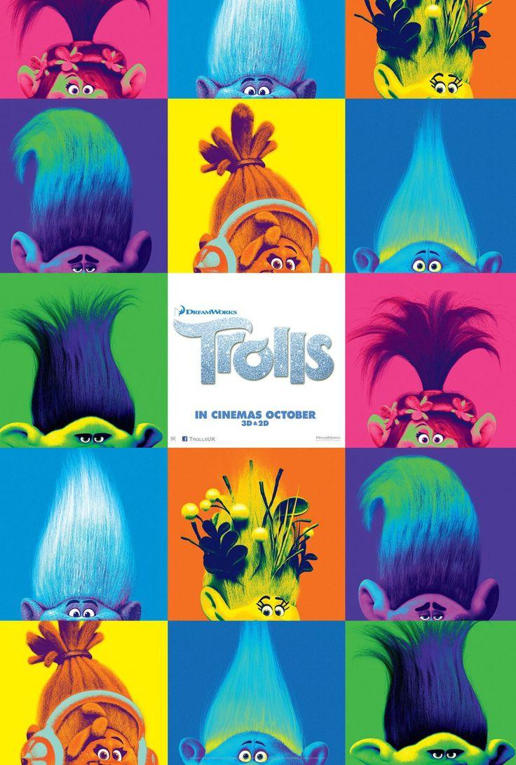 Trolls Movie Poster 6